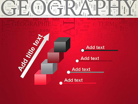 Geography Word Cloud PowerPoint Template Slide 14