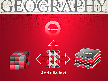 Geography Word Cloud PowerPoint Template Slide 19
