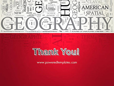 Geography Word Cloud PowerPoint Template Slide 20