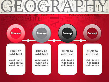 Geography Word Cloud PowerPoint Template Slide 5