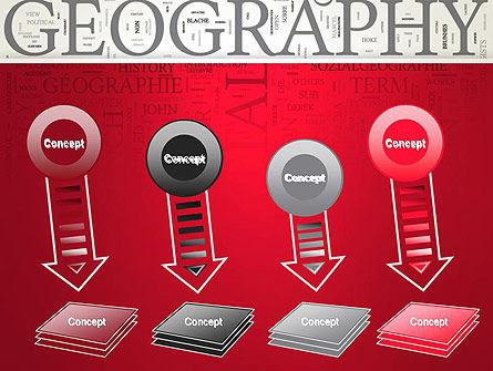 Geography Word Cloud PowerPoint Template Slide 8