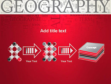 Geography Word Cloud PowerPoint Template Slide 9