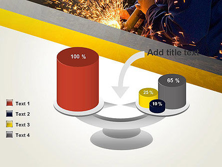 Grinding Steel PowerPoint Template Slide 10