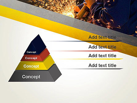 Grinding Steel PowerPoint Template Slide 12
