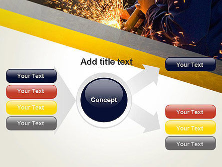 Grinding Steel PowerPoint Template Slide 14
