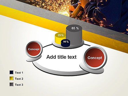 Grinding Steel PowerPoint Template Slide 16