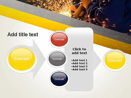 Grinding Steel PowerPoint Template Slide 17