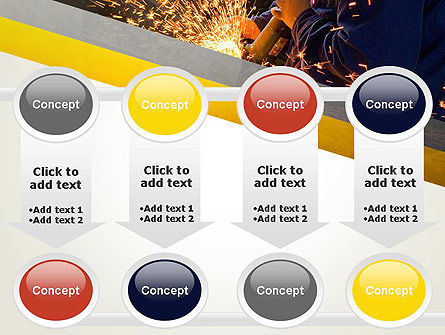 Grinding Steel PowerPoint Template Slide 18