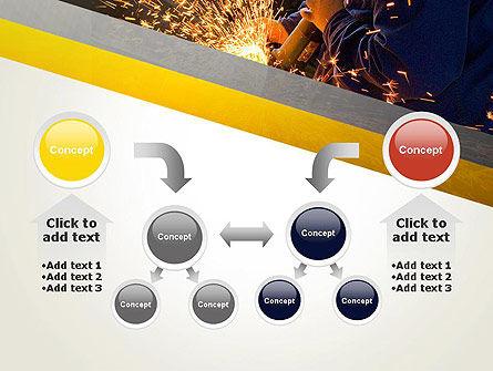 Grinding Steel PowerPoint Template Slide 19