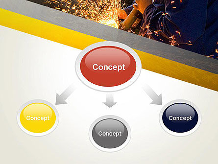 Grinding Steel PowerPoint Template Slide 4