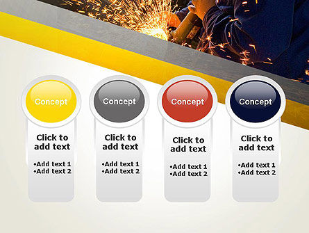 Grinding Steel PowerPoint Template Slide 5