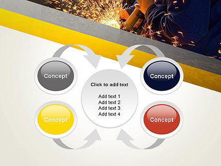 Grinding Steel PowerPoint Template Slide 6