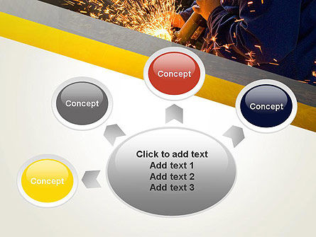 Grinding Steel PowerPoint Template Slide 7