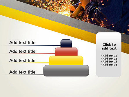 Grinding Steel PowerPoint Template Slide 8