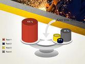 Grinding Steel PowerPoint Template#10