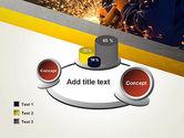Grinding Steel PowerPoint Template#16