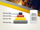 Grinding Steel PowerPoint Template#8