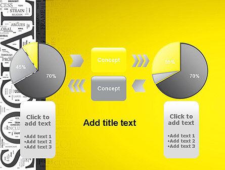 Social Word Cloud PowerPoint Template Slide 16