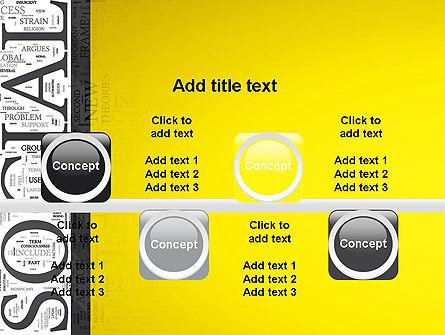 Social Word Cloud PowerPoint Template Slide 18