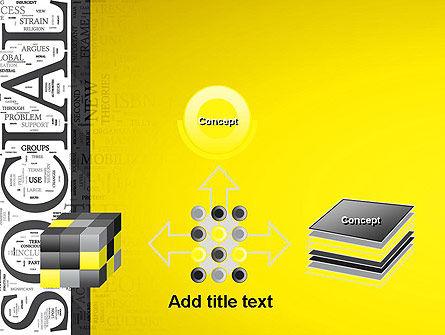 Social Word Cloud PowerPoint Template Slide 19
