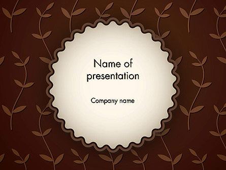 Sprouts Background PowerPoint Template