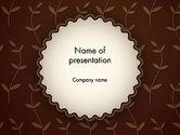 Abstract/Textures: Templat PowerPoint Kecambah #12925