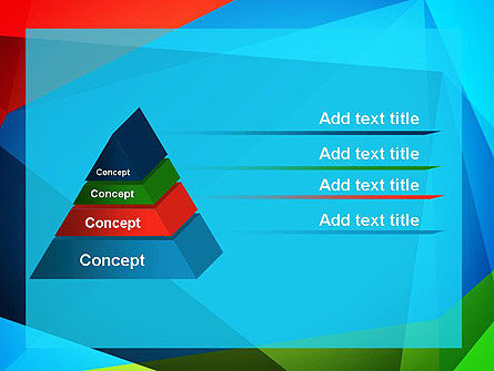 Abstract Colorful Geometric Figures PowerPoint Template Slide 12