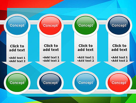 Abstract Colorful Geometric Figures PowerPoint Template Slide 18