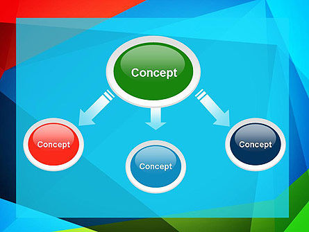 Abstract Colorful Geometric Figures PowerPoint Template Slide 4