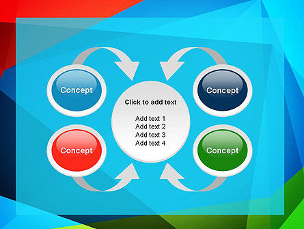 Abstract Colorful Geometric Figures PowerPoint Template Slide 6