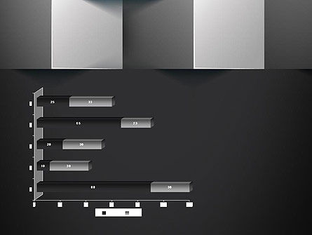 Gray Cubical Background PowerPoint Template Slide 11