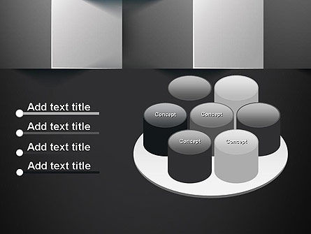 Gray Cubical Background PowerPoint Template Slide 12