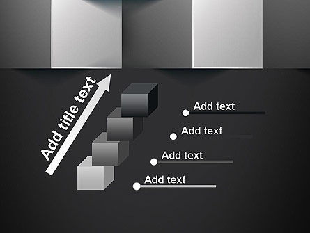 Gray Cubical Background PowerPoint Template Slide 14
