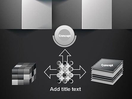 Gray Cubical Background PowerPoint Template Slide 19