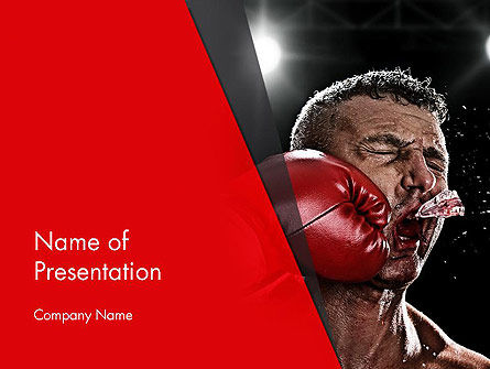 Knockout PowerPoint Template, 12928, Sports — PoweredTemplate.com