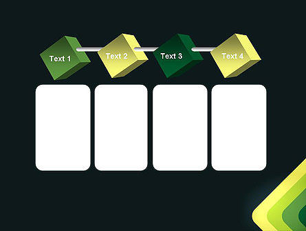 Abstract Green Corners PowerPoint Template Slide 18