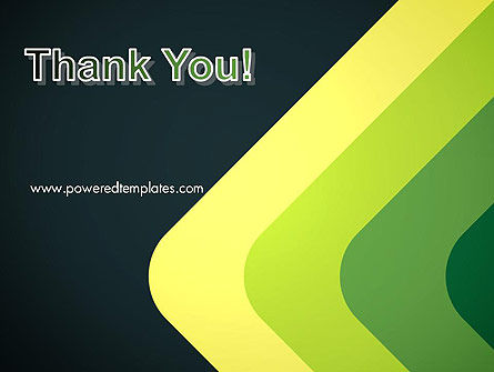 Abstract Green Corners PowerPoint Template Slide 20