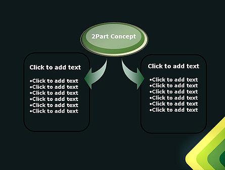 Abstract Green Corners PowerPoint Template, Slide 4, 12929, Abstract/Textures — PoweredTemplate.com
