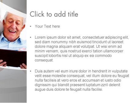 Retirement Activities PowerPoint Template, Slide 3, 12930, People — PoweredTemplate.com
