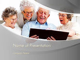 People: Retirement Activities PowerPoint Template #12930
