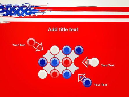 United States Flag Theme PowerPoint Slide 10