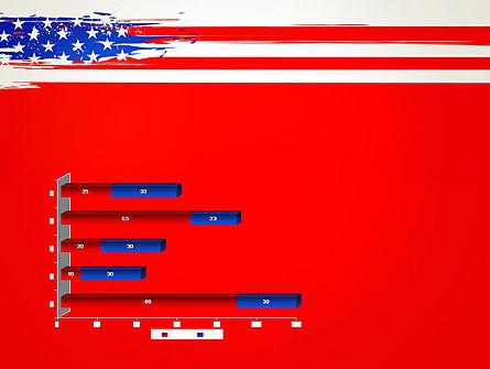 United States Flag Theme PowerPoint Slide 11
