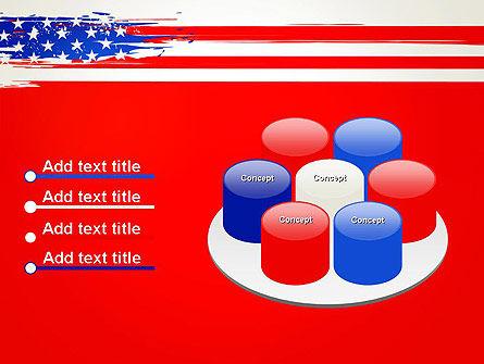 United States Flag Theme PowerPoint Slide 12