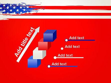 United States Flag Theme PowerPoint Slide 14