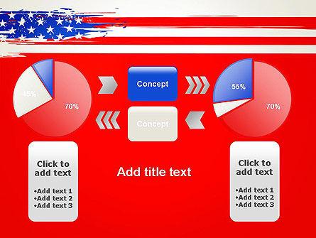 United States Flag Theme PowerPoint Slide 16