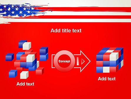 United States Flag Theme PowerPoint Slide 17