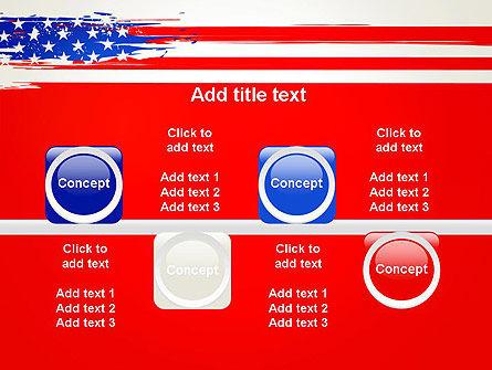United States Flag Theme PowerPoint Slide 18