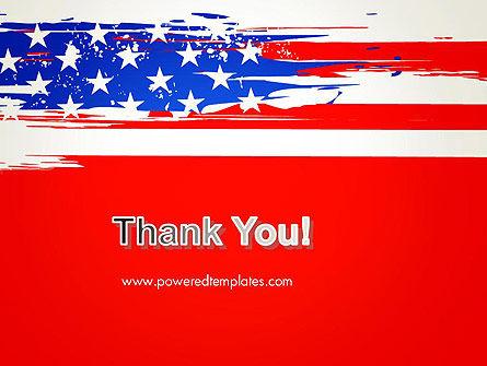 United States Flag Theme PowerPoint Slide 20