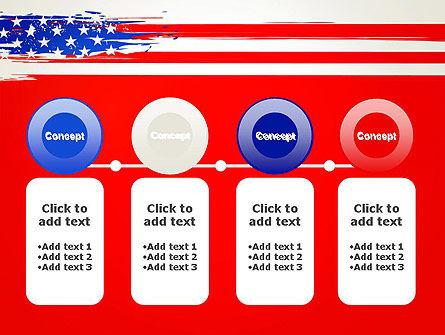 United States Flag Theme PowerPoint Slide 5