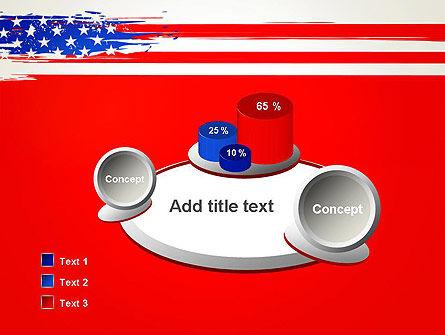 United States Flag Theme PowerPoint Slide 6